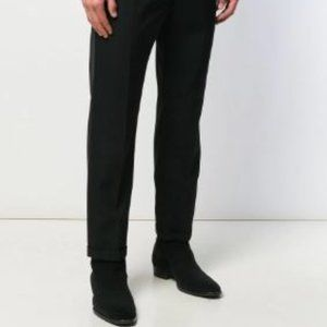 Yves Saint Laurent Black Men's Dress Pants Trouser